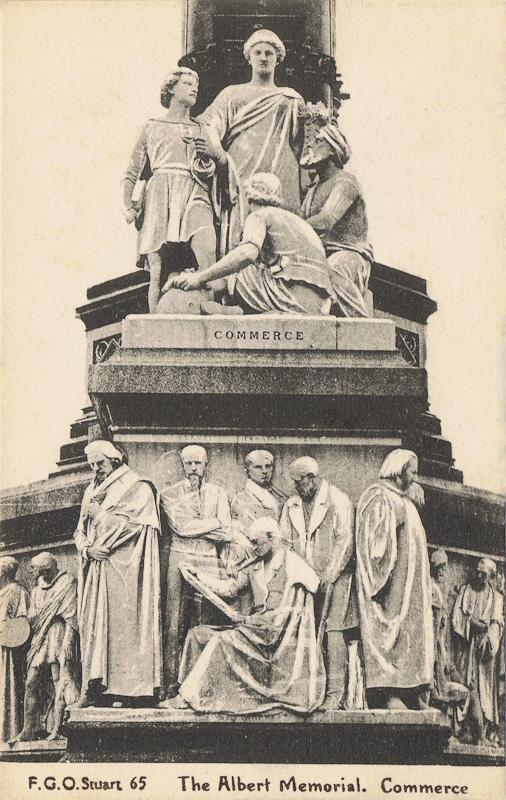 The Albert Memorial, Commerce