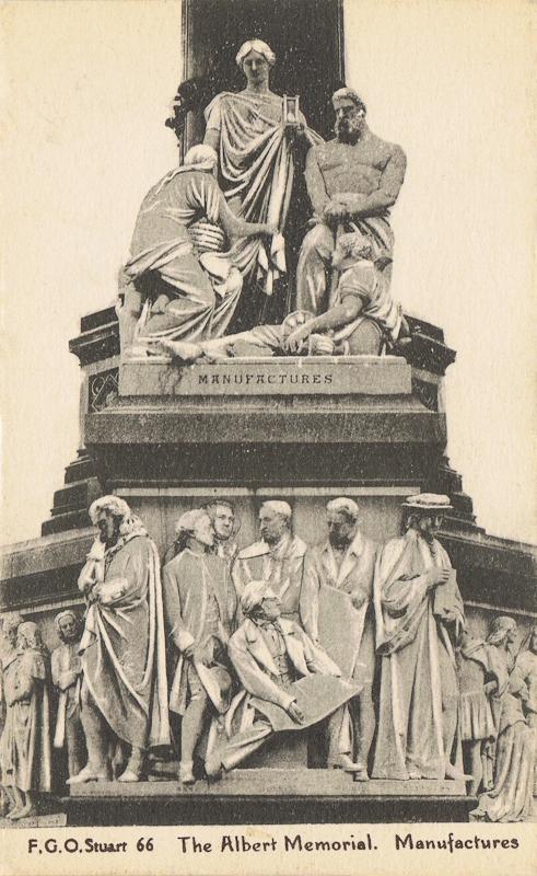 The Albert Memorial, Manufactures