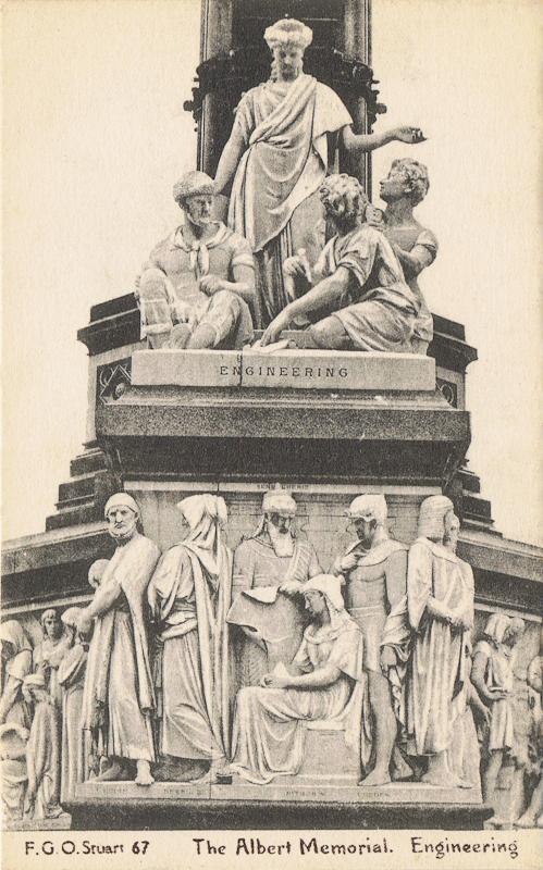 The Albert Memorial, Engineering