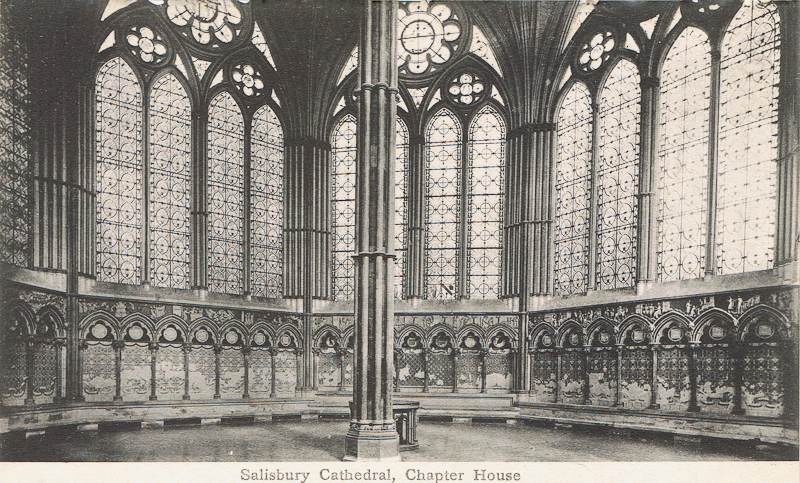 Salisbury Cathedral, Chapter House