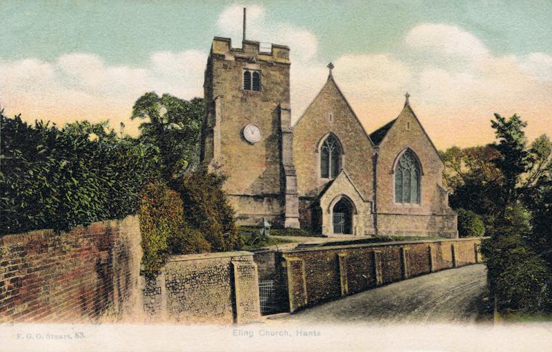 Eling Church, Hants