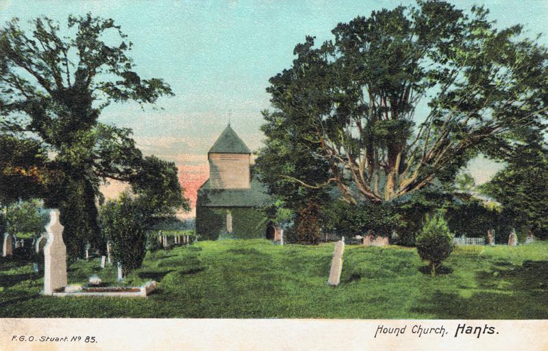 Hound Church, Hants