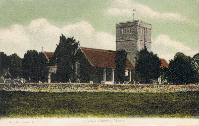 Fawley Church, Hants