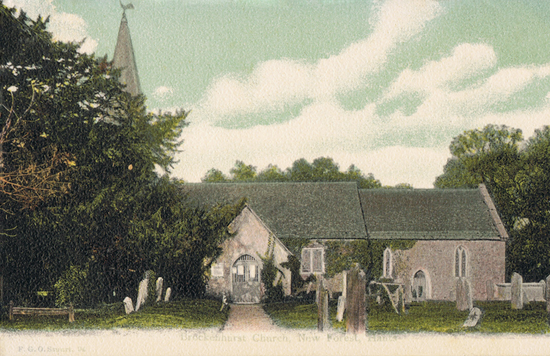 Brockenhurst Church, New Forest, Hants