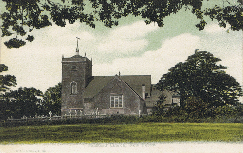 Minstead Church, New Forest