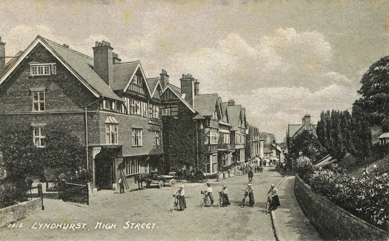 Lyndhurst High Street