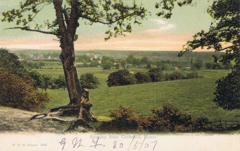 Romsey From Greenhill, Hants