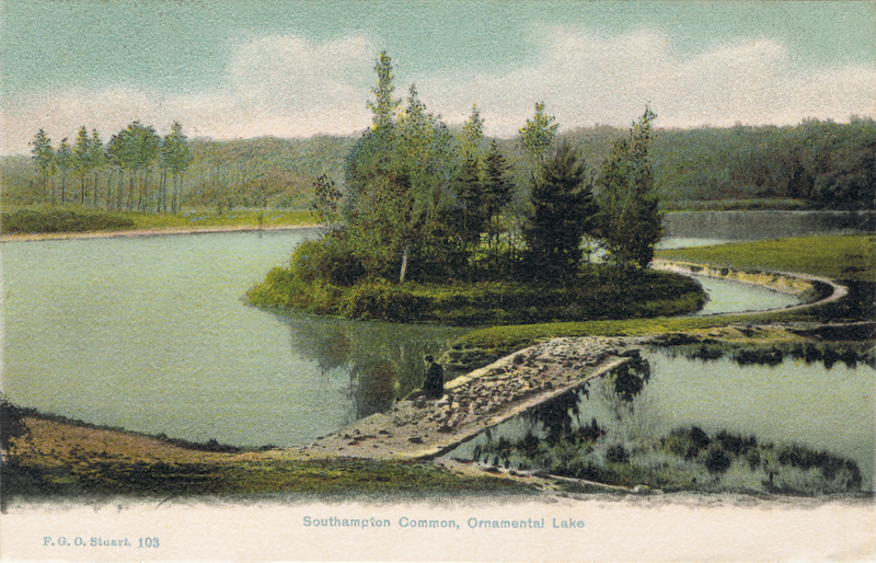 Southampton Common, Ornamental Lake