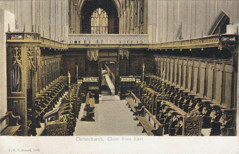 Christchurch Choir from east