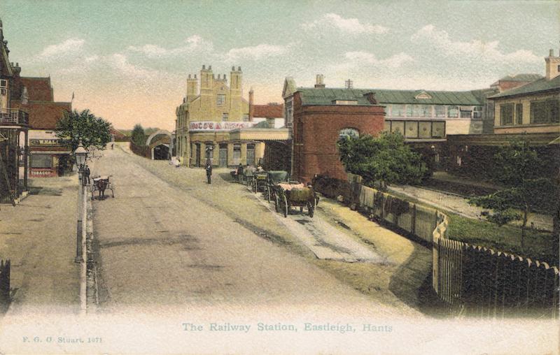 The Railway Station, Eastleigh, Hants
