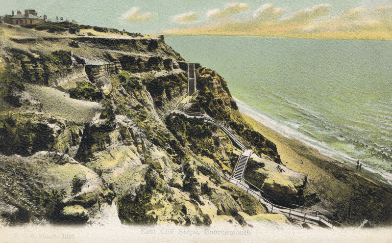 East Cliff Steps, Bournemouth