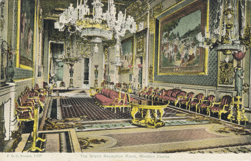 The Grand Reception Room, Windsor Castle
