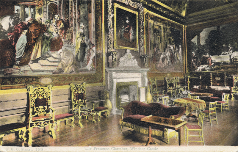 The Presence Chamber, Windsor Castle