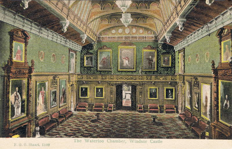 Waterloo Chamber, Windsor Castle