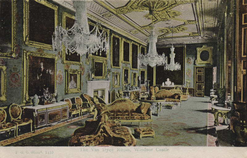 The Van Dyck Room, Windsor Castle