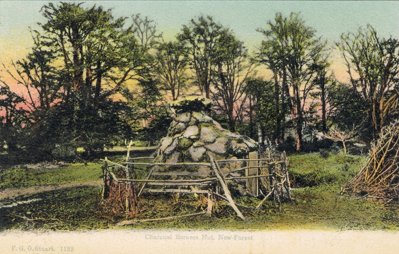 Charcoal Burners Hut, New Forest