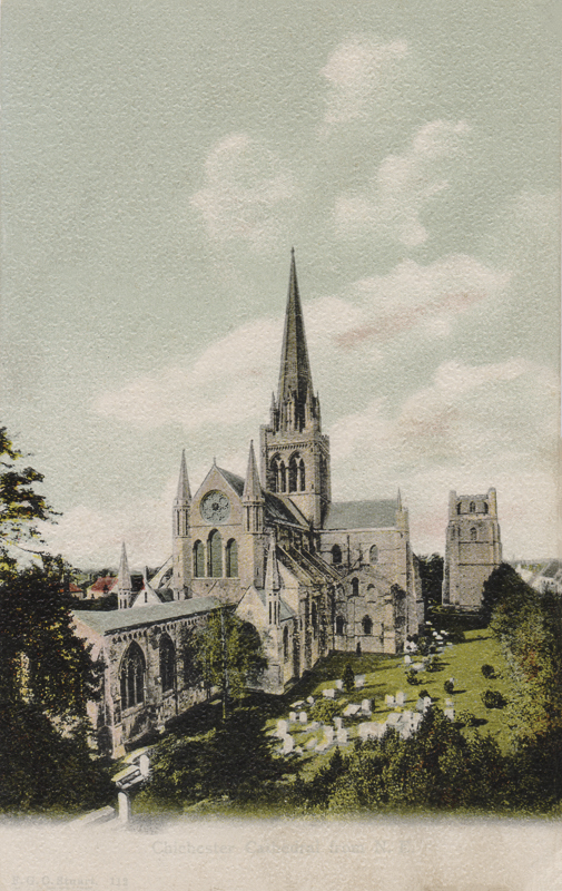 Chichester Cathedral from N.E.
