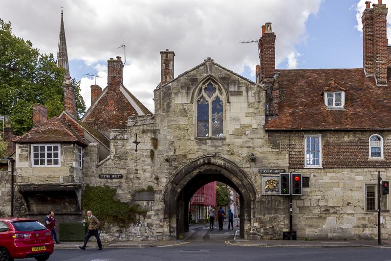 St Anne's Gate. Salisbury