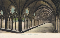 1159  -  Salisbury Cathedral, Cloisters