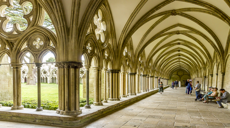 Salisbury Cathedral, Cloisters