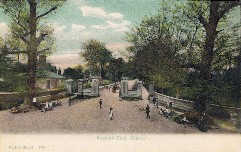 Regents Park, Shirley