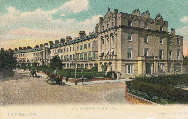 The Crescent, Stokes Bay