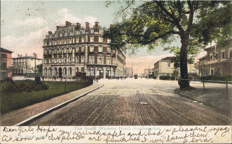 The South Western Hotel, Southampton