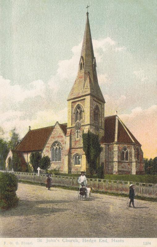 St John's Church, Hedge End, Hants