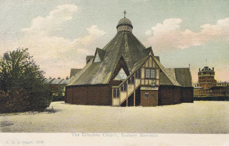 The Crinoline Church, Eastney Barracks