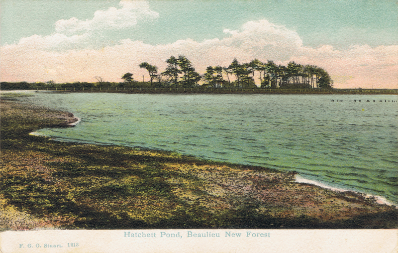 Hatchett Pond, Beaulieu, New Forest