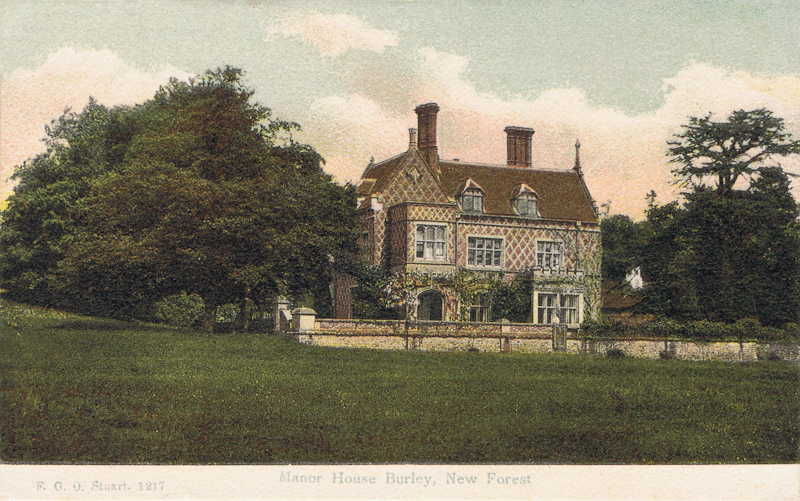 Manor House Burley, New Forest
