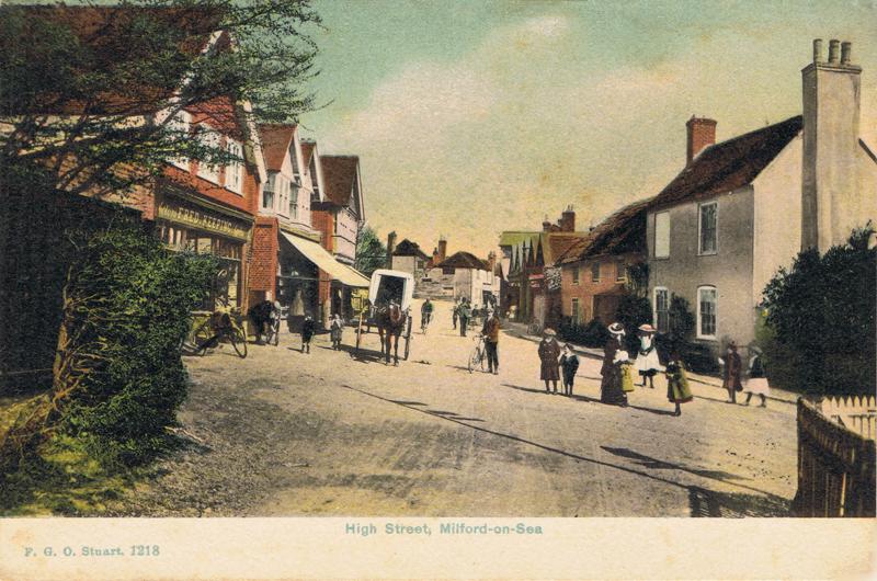 High Street, Milford-on-Sea