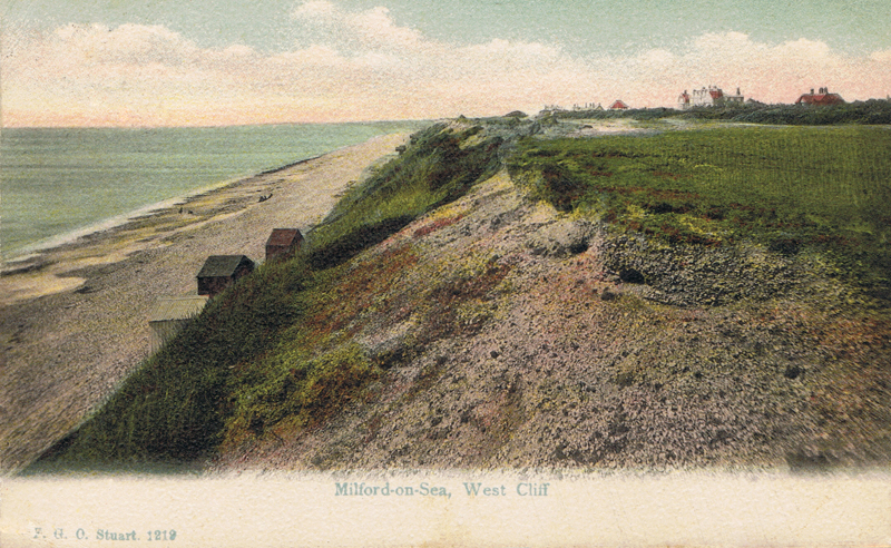 Milford-on-Sea, West Cliff