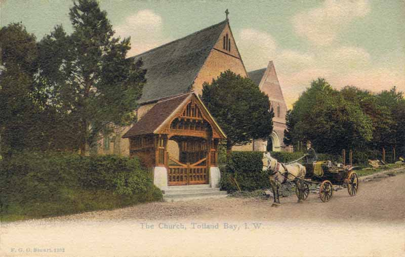 The Church, Totland Bay, I.W.