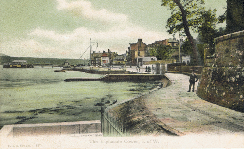 The Esplanade Cowes, I. of W.