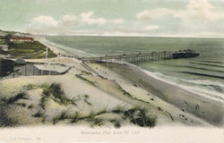 129  -  Boscombe Pier From W. Cliff