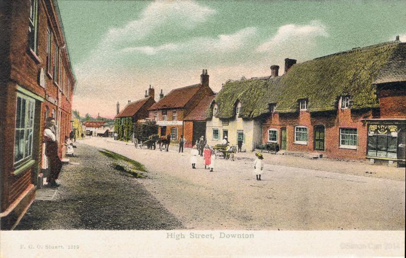 High Street, Downton