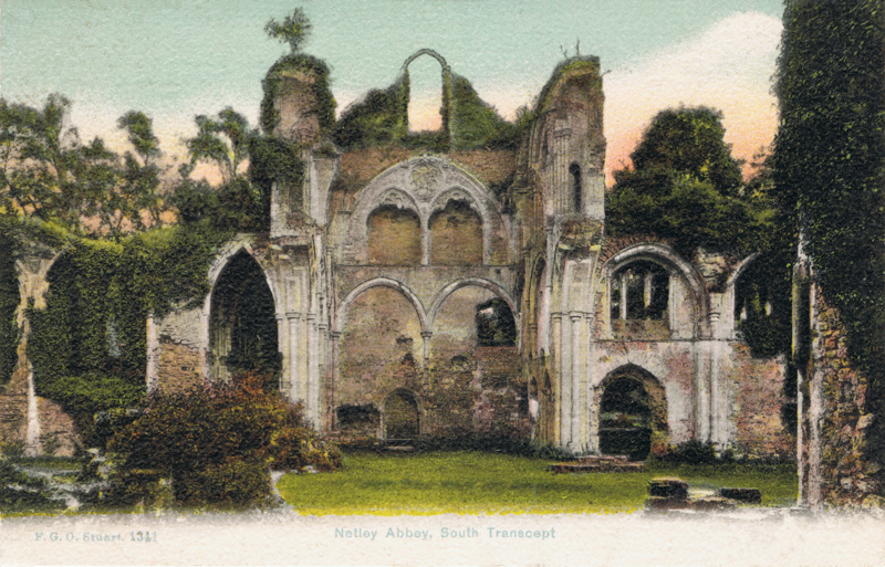 Netley Abbey, South Trancept