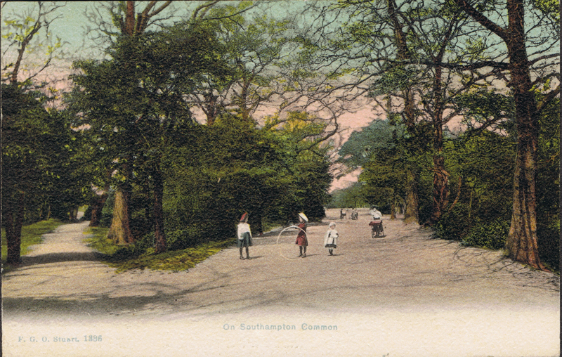 On Southampton Common