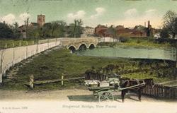1393  -  Ringwood Bridge, New Forest