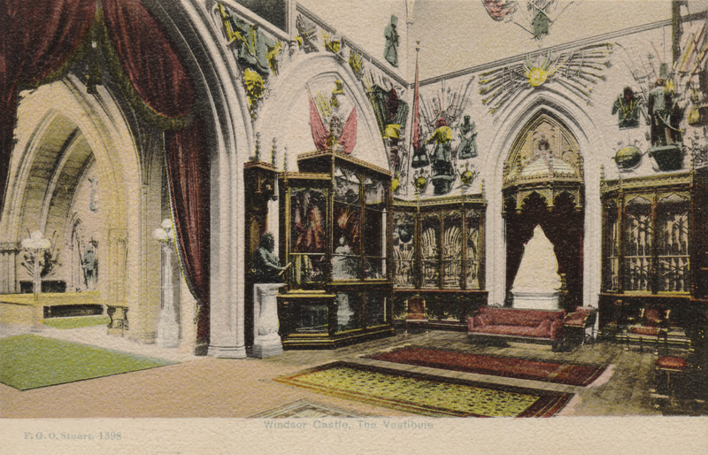1398  -  Windsor Castle, The Vestibule