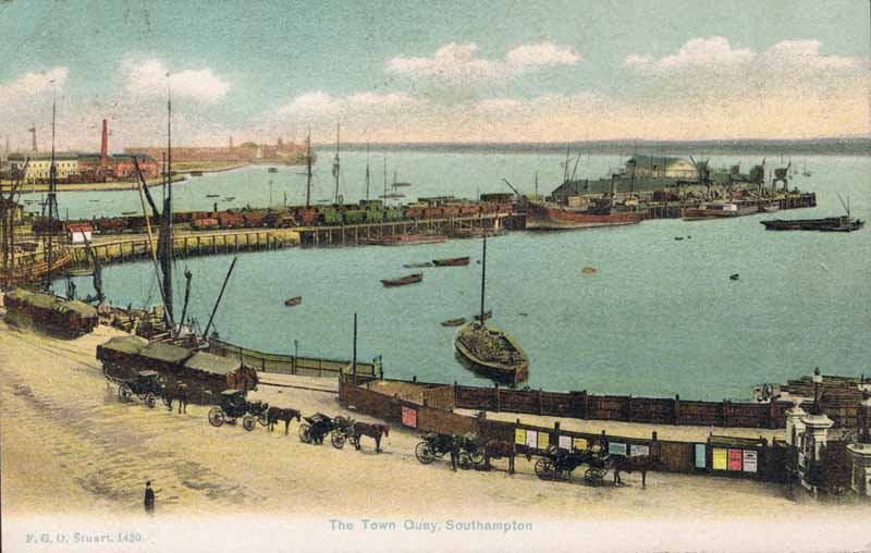 The Town Quay, Southampton