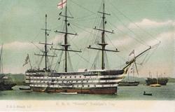 "147  -  H.M.S ""Victory"", Trafalgar Day"
