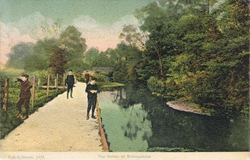 1484  -  The Itchen At Bishopstoke