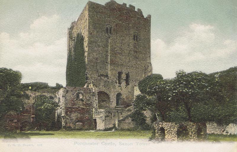 Portchester Castle, Saxon Tower
