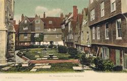 1511  -  St Thomas Churchyard, Salisbury
