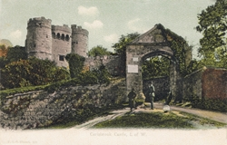 152  -  Carisbroke Castle, I. of W.