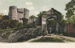 152  -  Carisbroke Castle, I. of W.