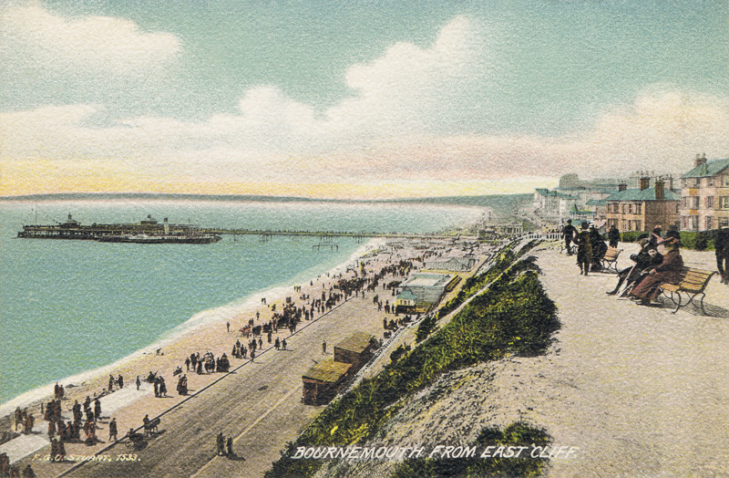 Bournemouth From East Cliff