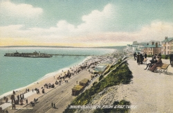 1533  -  Bournemouth From East Cliff